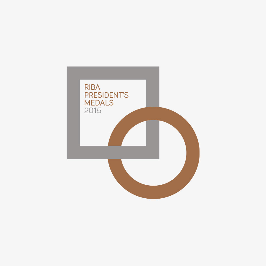 RIBA President's Medals 2015 Identity