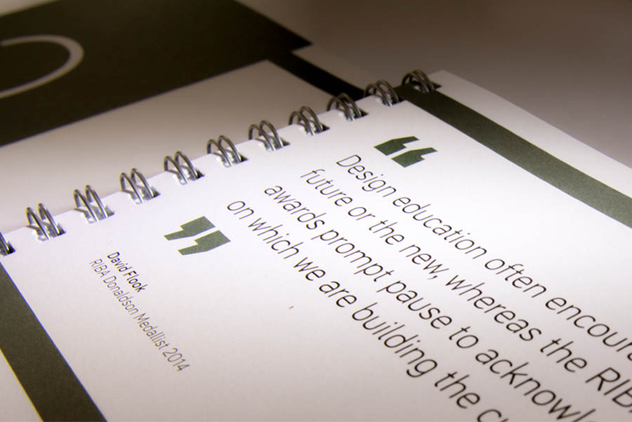 Education Yearbook introduction page. The image shows the attractive wire-binding style of the document.